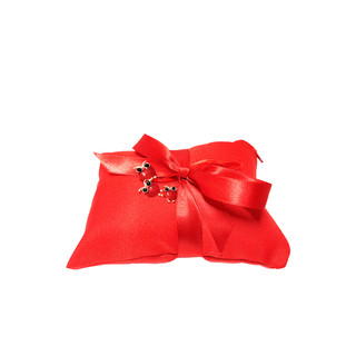 Red Small Pillow #2