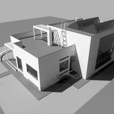 Casa De Grandi a Coseaux, Svizzera, 1937-1939