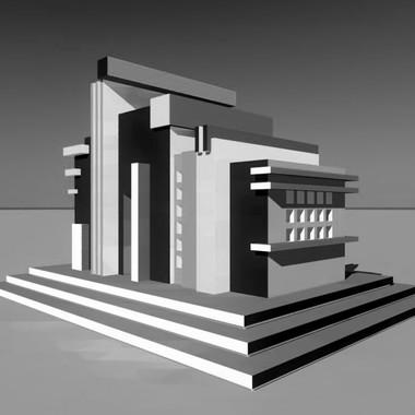 Cappella bar futurista, 1920