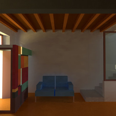 Ristrutturazione di abitazione a Soncino (Cremona), 2004