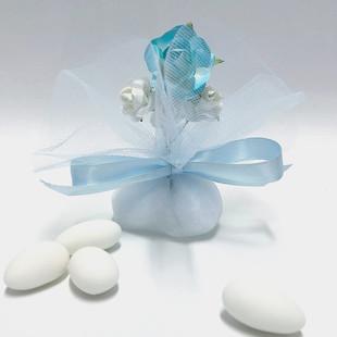 Tulle in Light Blue - #2