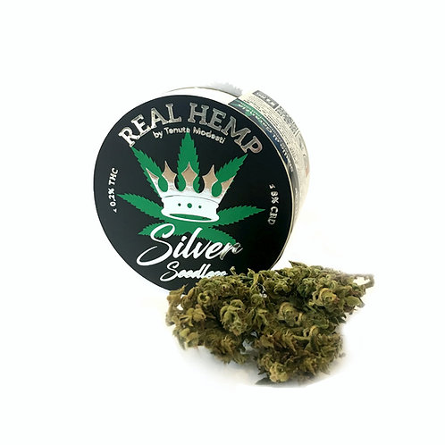 REAL HEMP SILVER Seedless - Infiorescenze FINOLA - 4g • CBD 8%