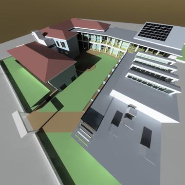 Progetto di un nuovo complesso scolastico a Cremona, 2005