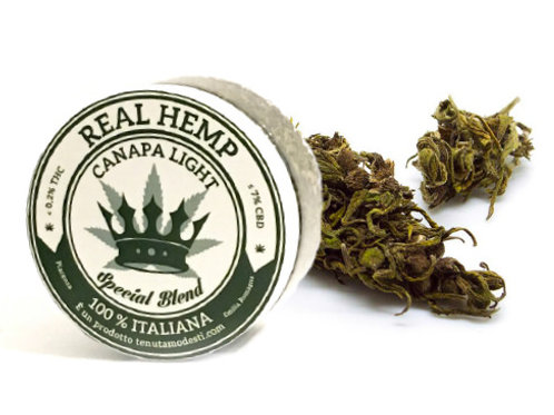REAL HEMP Canapa Light - Infiorescenze FUTURA75 - 12g • CBD 7%