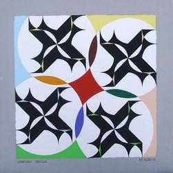 composizione 31, acrilico su cartone, 50x50 cm, 2012