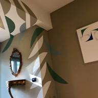 opera parietale, abitazione privata, San Bassano, Cremona, Italia, 2019