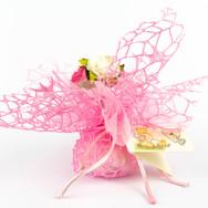 Tulle net (blue/pink/white)