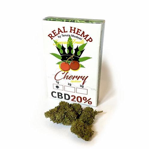 CHERRY  Indoor - Infiorescenze 1g-2g-3g • CBD 20%