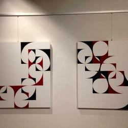 """Sottili Armonie"", mostra personale, Galleria Bludiprussia, Albissola Marina, Savona, 2018"