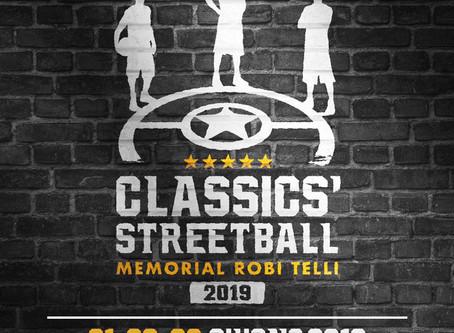 3vs3 Classics'Streetball - Memorial Robi Telli 2019
