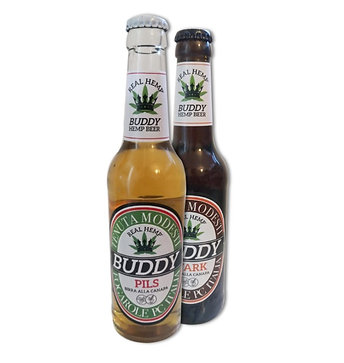 BIRRA ALLA CANAPA Buddy HEMP BEER 0,33cl