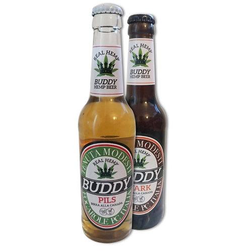 BIRRA ALLA CANAPA Buddy HEMP BEER 0,33cl