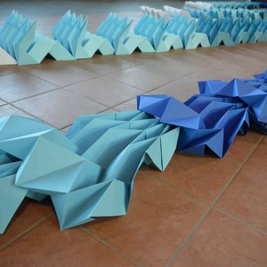 """""""Into the water"""", mostra collettiva, Filanda Jacini, Casalbuttano, Cremona, 2018"""