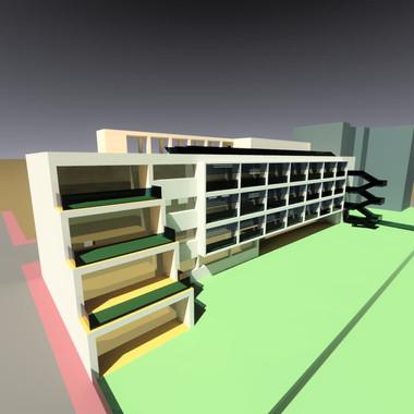 Progetto di un nuovo complesso scolastico a Soresina (Cremona), 2009