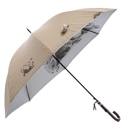 538_231  雨晴兼用犬猫プリント傘