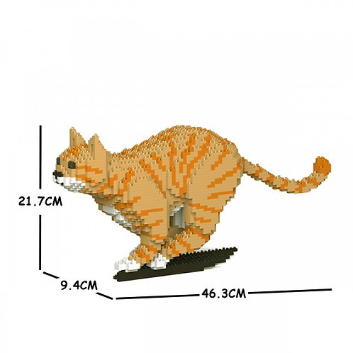 Orange Tabby Cat 18S-M01  (需訂貨)