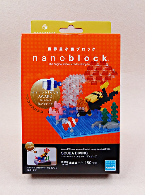 nanoblock NBC_276 Scuba Diving