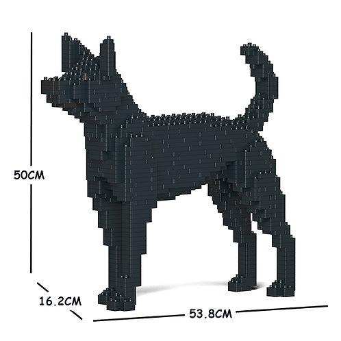 台灣犬 Formosan Mountain Dog 01C M size (需訂貨)