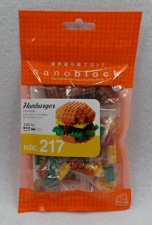 nanoblock NBC_217 Hamburger