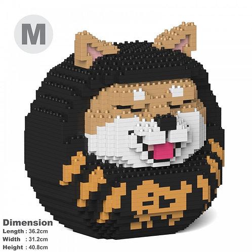 柴犬達摩 Shiba Daruma Doll 01C-M02 (需訂貨)