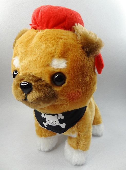 D02030_3 豆柴三兄弟海盜系列_豆三郎
