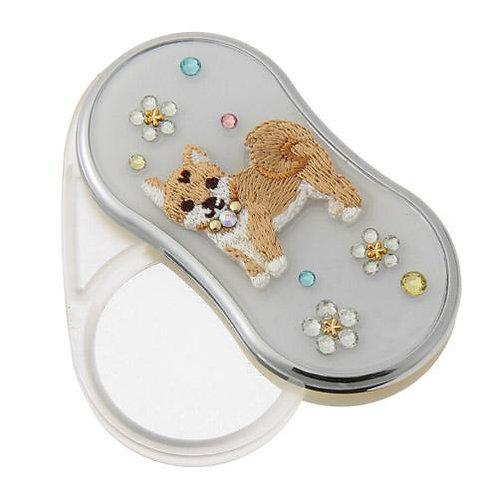 D02303 刺繡柴犬LED便携放大鏡