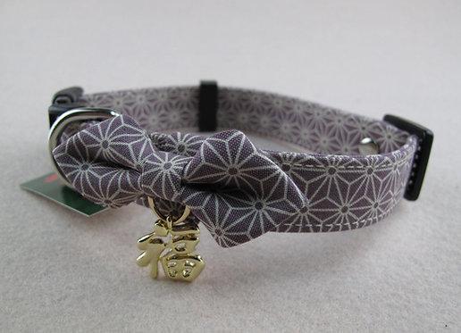 D01407_1 Amo.k日本製和風福字頸飾 - 紫(L)