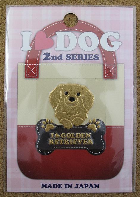 D00355 彩蒔絵 I Love Dog 2nd I Love Golden Retriever