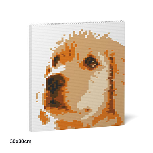 金毛尋回犬 Golden Retriever Brick Painting 01S S size (需訂貨)