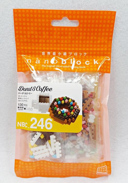 nanoblock NBC_246 Donut & Coffee
