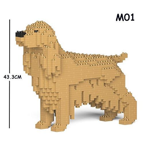 英國曲架 English Cocker Spaniel 01C-M01 M size (需訂貨)