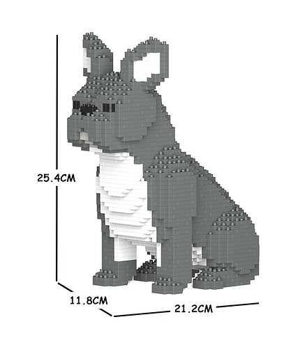 Jekca 法國老虎狗 French Bulldog 04S-M05 S size (需訂貨)