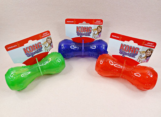 D02431 Kong Squeezz Toy Dumbell_M