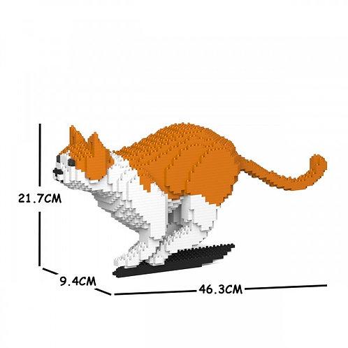 Orange & White Cat 23S-M01 (需訂貨)