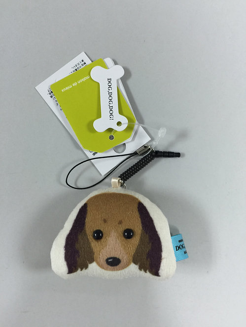 D00893 臘腸犬螢幕清潔掛飾 / 防塵塞