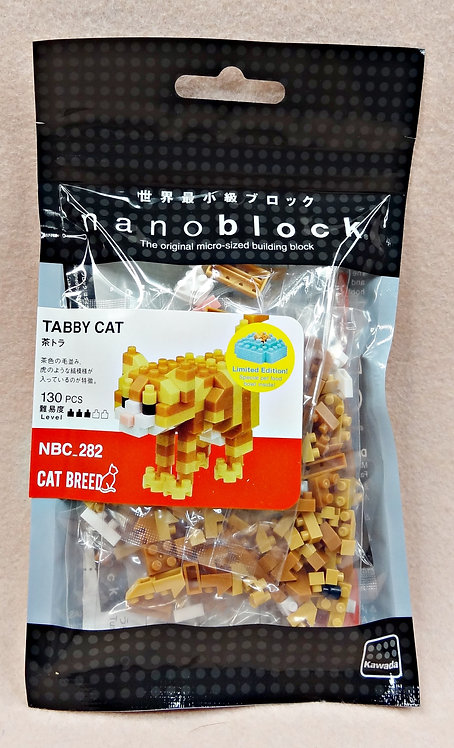 nanoblock NBC_282 Tabby Cat