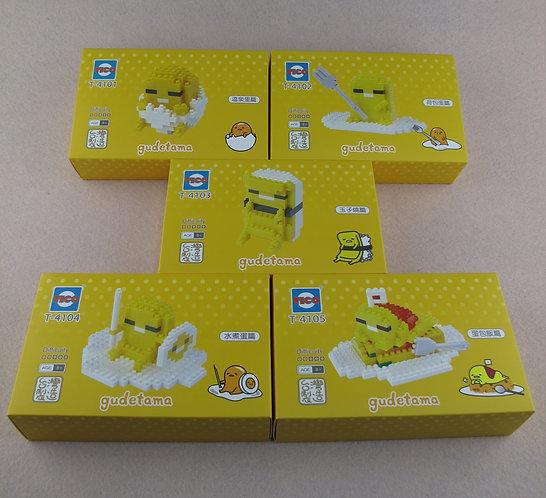 T-4104-4105 Gudetama (1 set 5 boxes)