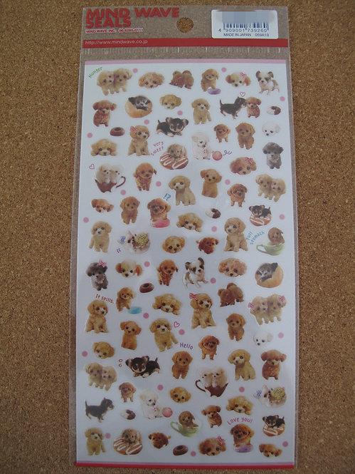 D00157 Mind Wave Seals 貴婦犬貼紙