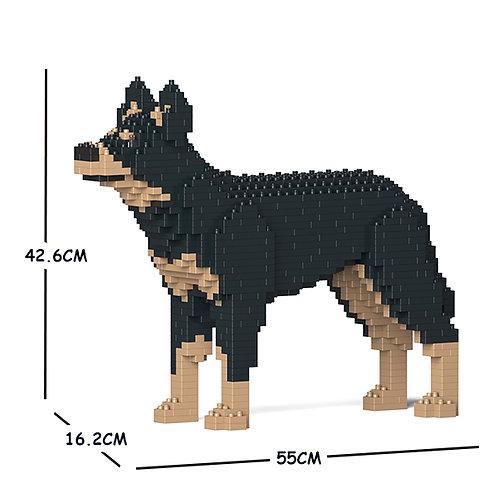 澳洲卡爾比犬 Australian Kelpie 01C-M01 M size (需訂貨)