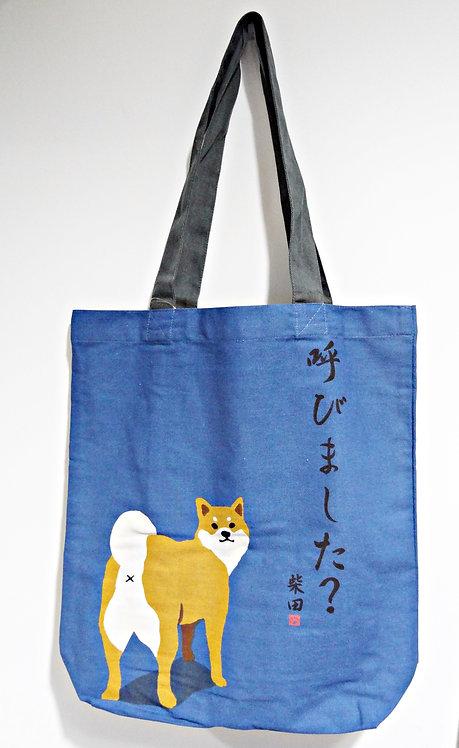 D01799 _34 柴田tote bag(藍色呼びました)