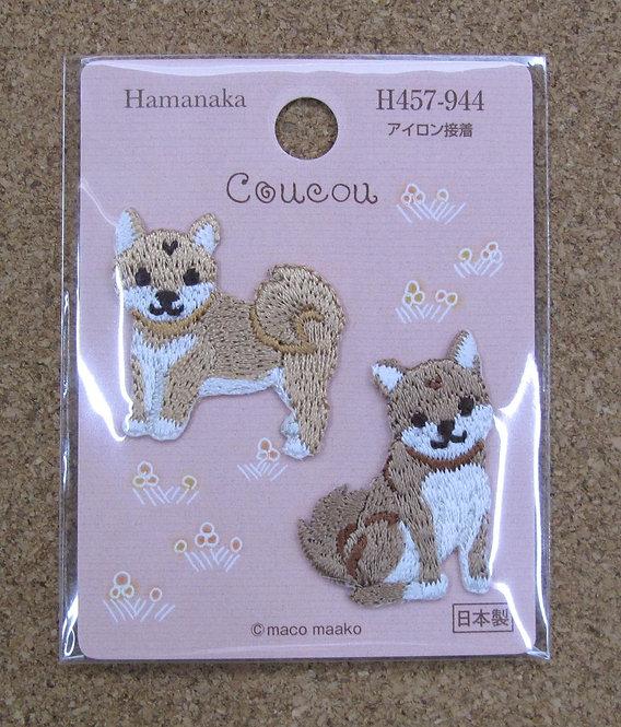 D00532 Hamanaka 柴犬燙貼