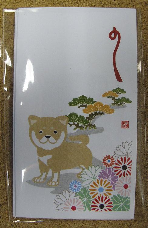 D00325 小賀禮封 - 赤柴松花