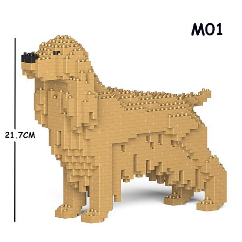 英國曲架 English Cocker Spaniel 01S-M01 S size (需訂貨)