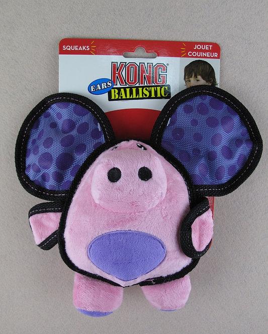 D00970 KONG Ballistic Ears Pig