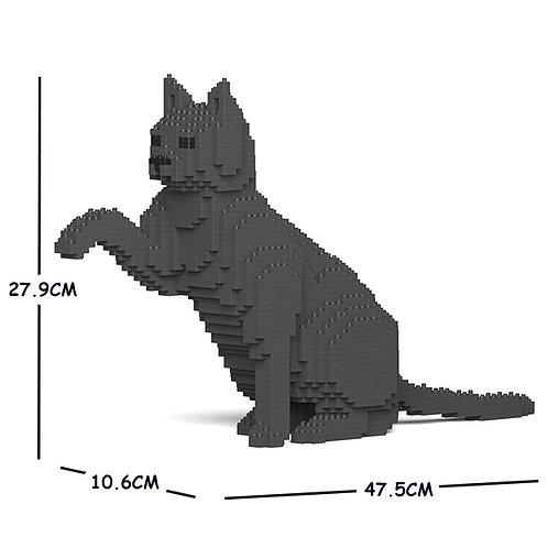 Grey Cat (darker) 08S-M03  (需訂貨)