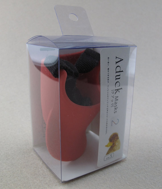 D01124_2 Salalapet 鴨咀口罩(S)-紅色(SP100_2)