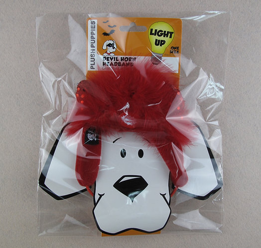 D01157 Devil Horn Headband L