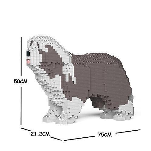 古代長鬚牧羊犬 Bearded Collie 01C-M02 M size (需訂貨)