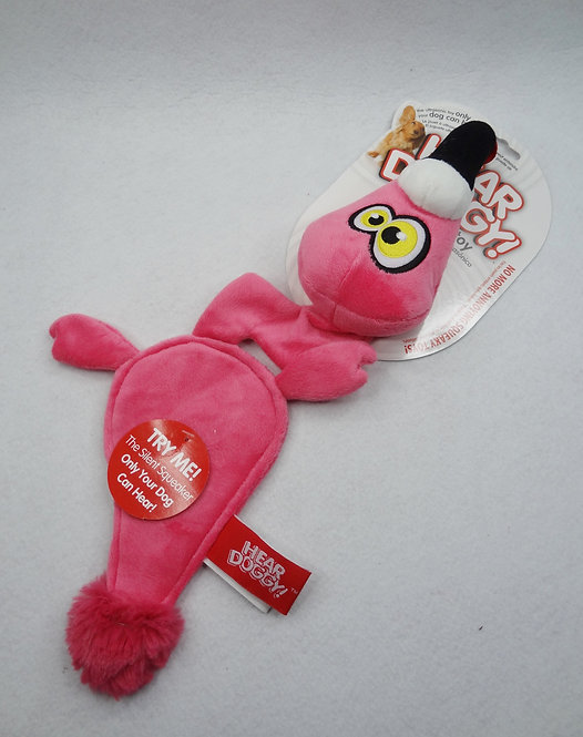 D01472_7 Hear Doggy Ultrasonic Dog Toy - Flats Pin