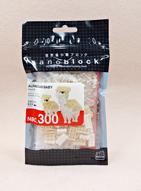 nanoblock NBC_300 Alpaca and Baby